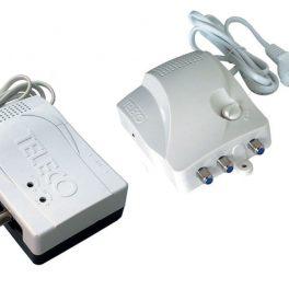 Teleco amplificatori da interno auto alimentati VHF e UHF separate con regolazione