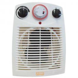 Termo Ventilatore Con Timer 24H 1000/2000W Vinco 70303