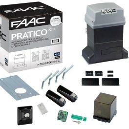 Faac Pratico Kit Automazione Per Cancello Scorrevole 600Kg Faac 746 10564944
