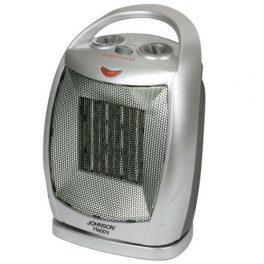 Johnson termoventilatore caldobagno elettrico ceramicato -35% di consumo oscilla