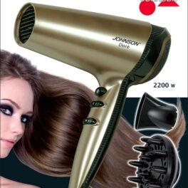 Johnson Dorè Phon asciugacapelli 2200W con diffusore e concentratore