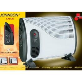 Johnson Kalor Termoconvettore Elettrico appoggio o da parete 2000W con ventola