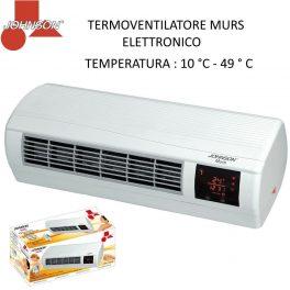 Johnson termoconvettore splitter da parete con termostato e telecomando Display