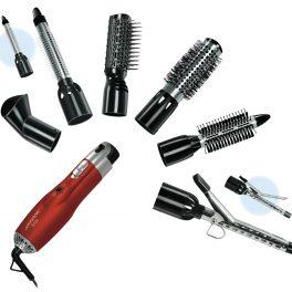 Johnson Set phon spazzole per asciugare e modellare i capelli 6 spazzole 1000W