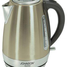 Johnson Bollitore elettrico acciaio inox acqua calda scalda bevande 2000W 1,7L