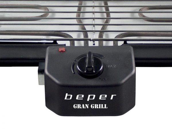 BEPER BT.450 BARBECUE ELETTRICO CON DOPPIA GRIGLIA