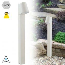 PALETTO da GIARDINO in alluminio  Bianco 6w IP44 – LED-SINTESI-P BCO