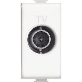 AM5202D  Presa TV diretta 1M bianco