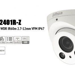 Dahua HAC-HDW2401R-Z - Dome HDCVI 4Mp 2.8-12mm motorizzata